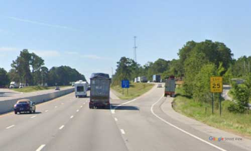 sc i26 south carolina gaston rest area eastbound exit mile marker 123
