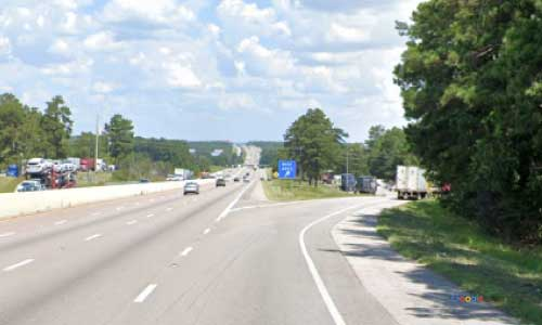 sc i26 south carolina gaston rest area westbound exit mile marker 123