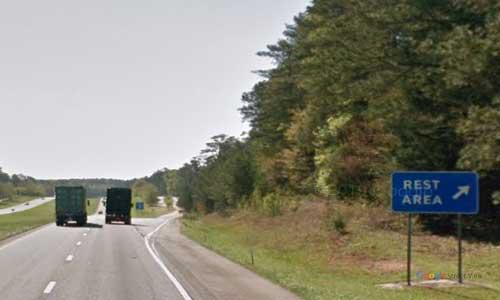 sc i26 south carolina kinards rest area eastbound exit mile marker 63.5