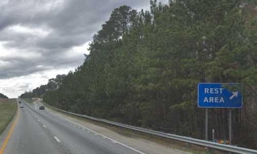 sc i26 south carolina kinards rest area westbound exit mile marker 63.5