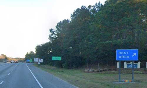 sc i26 south carolina ladson rest area eastbound exit mile marker 204