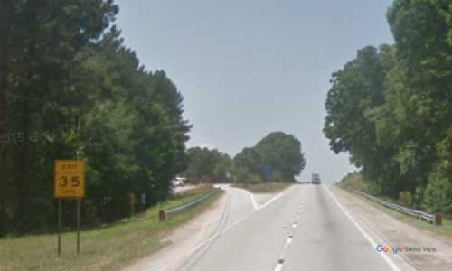 sc i385 south carolina laurens rest area northbound exit mile marker 5.8