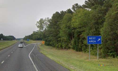 sc i77 south carolina richburg rest area northbound exit mile marker 65.7