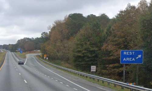 sc i85 south carolina anderson rest area northbound exit mile marker 17
