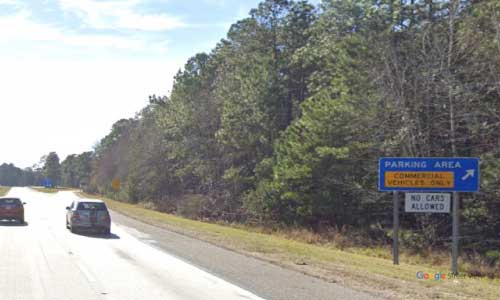 sc i95 south carolina jasper county wayside southbound exit mile marker 17