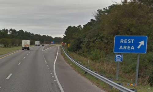 sc i95 south carolina santee rest area northbound exit mile marker 99