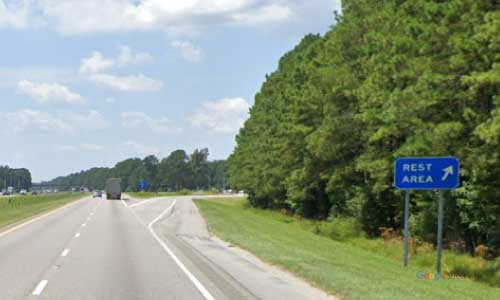 sc i95 south carolina sumter rest area southbound exit mile marker 139