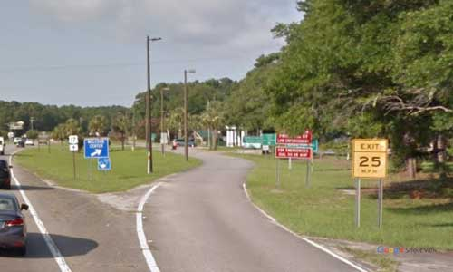 sc us17 south carolina little river welcome center bidirectional